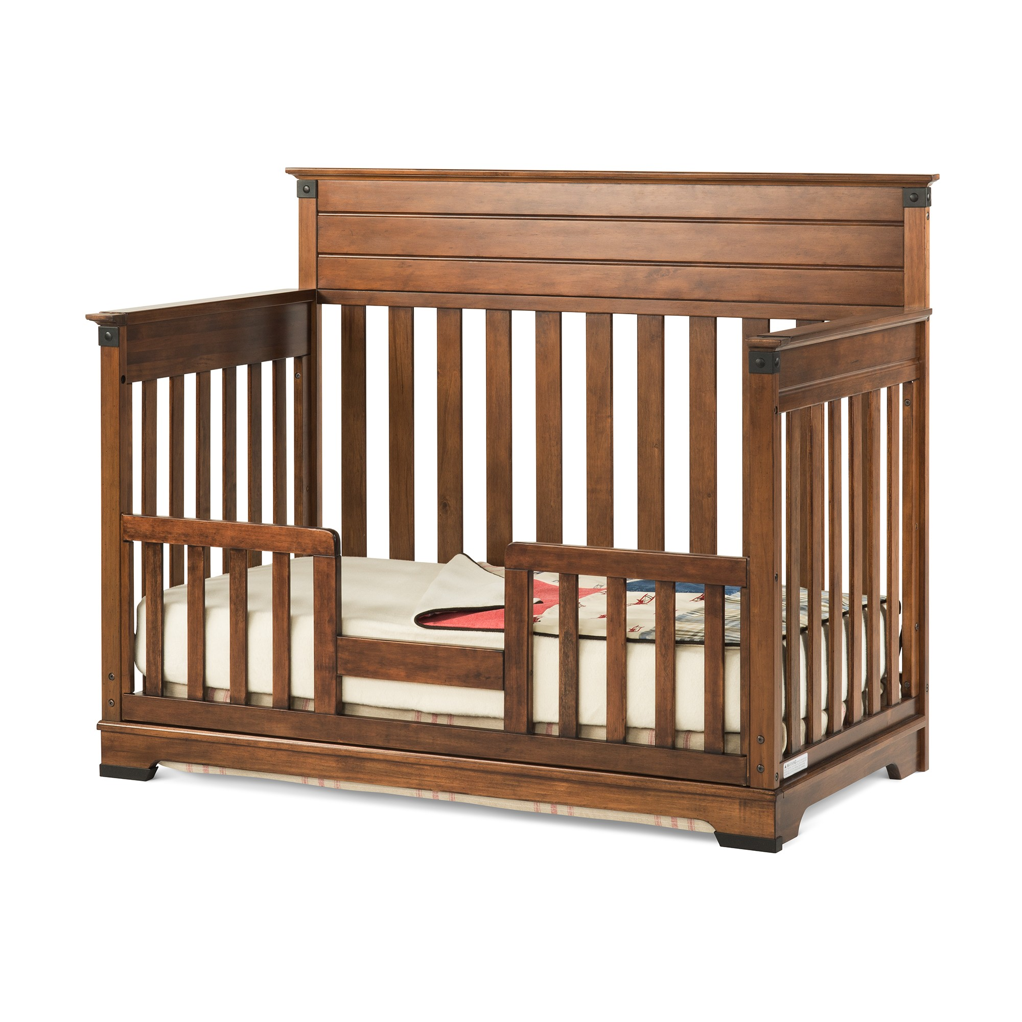 Crib Toddler Convertible 1 Bed Changing 4