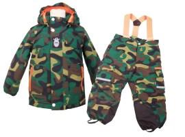 DanefÆ: Gut getarnt Camouflage-Winterjacke (133,75 €) Schneehose (107 €) www.danefae.dk