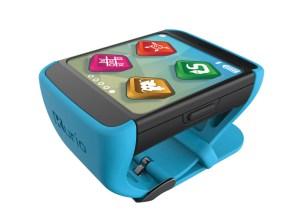 """Smartwatch für Einsteiger: Die """"kluge Uhr Kurio"""" von KD bietet mit vorinstallierten Apps und Spielen viele Möglichkeiten zur Beschäftigung."""