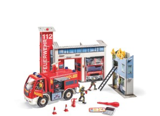 Eine Feuerwehrstation von Ravensburger, die Dank Tiptoi eine ganze Menge mehr kann.