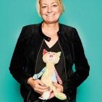 Manuela Hofmann, Presse- und Öffentlichkeitsarbeit von Sigikid, mit Sweety Patchwork Katze
