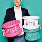 David Catala von Cupcake Babies mit Cupcake Baby-Badewannen