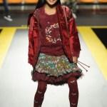 """Desigual auf der Fashion-Show """"Fashion from Spain"""" auf der Pitti Bimbo im Januar 2017"""