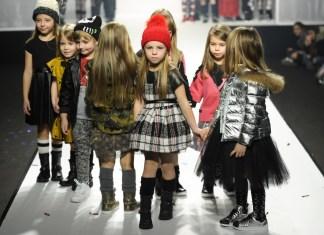 Fashion-Show von Y-Clú auf der Pitti Bimbo im Januar 2017