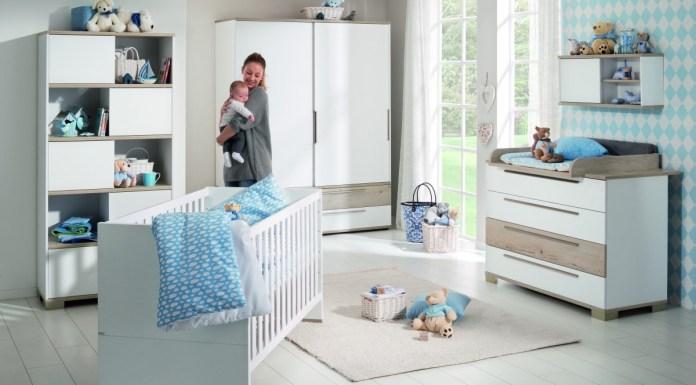 Bei der Kindermöbelserie Carlo setzt Paidi auf Schiebetüren.