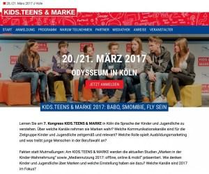 """Zum 7. Mal findet in Köln der Kongress """"Kids.Teens & Marke"""" statt"""