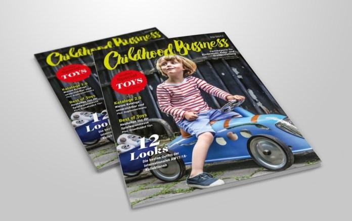 Cover der Ausgabe 03 2017 von Childhood Business