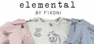 """Das dänische Label Utoft Kids startet im April 2017 die GOTS-zertifizierte Linie """"Elemental by Fixoni"""""""