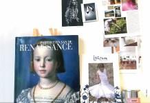 Collage au dem Jottum-Atelier zur Entstehung von Anlasskleidern