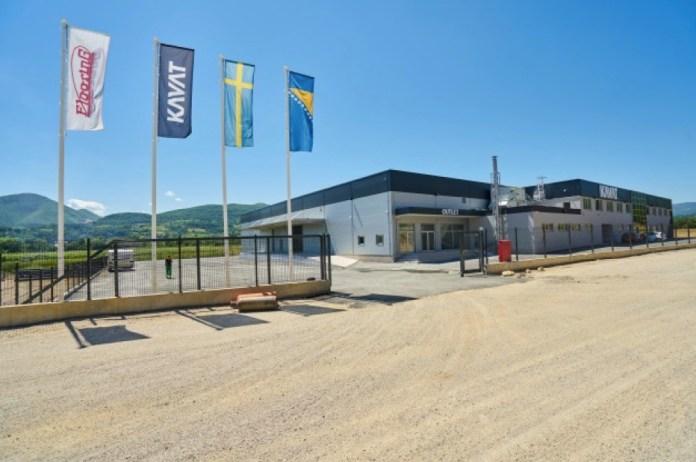 Das Werk vom schwedischen Schuhhersteller Kavat, das in 2017 in Novi Travnik errichtet wurde.