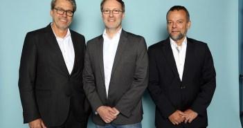 Michael Neumann (Dorel Europe), Martin Paff (Childhood Business) und Alessandro Zanini (Britax Römer)