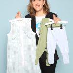 Natalie van Servellen- de Bièvre von Daddy Proof Kids Wear. Im Web unter: www.daddyproofkidswear.com – auf der Kind + Jugend 2017 beim Childhood-Business-Shooting 'My Favourite Item'