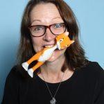 Sarah Cummins von Mooncow Ltd. Im Web unter:  – auf der Kind + Jugend 2017 beim Childhood-Business-Shooting 'My Favourite Item'