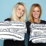Milou Schoone und Jolanda Carnet von Wit Lof For Kids. Im Web unter: www.witlofforkids.com – auf der Kind + Jugend 2017 beim Childhood-Business-Shooting 'My Favourite Item'