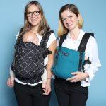 Mara Oltean und Monica Olariu von Isara. Im Web unter: www.isara.ro – auf der Kind + Jugend 2017 beim Childhood-Business-Shooting 'My Favourite Item'