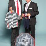 Michael Neumeister und Oliver Rauch von Playshoes GmbH. Im Web unter: www.playshoes.de – auf der Kind + Jugend 2017 beim Childhood-Business-Shooting 'My Favourite Item'