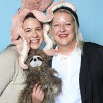 Noémi Huber von PM Modeagentur – Kids de Luxe und Jasmin Hohl von Ludwig Beck AG. Im Web unter: www.pmmodeagentur.de – auf der Kind + Jugend 2017 beim Childhood-Business-Shooting 'My Favourite Item'