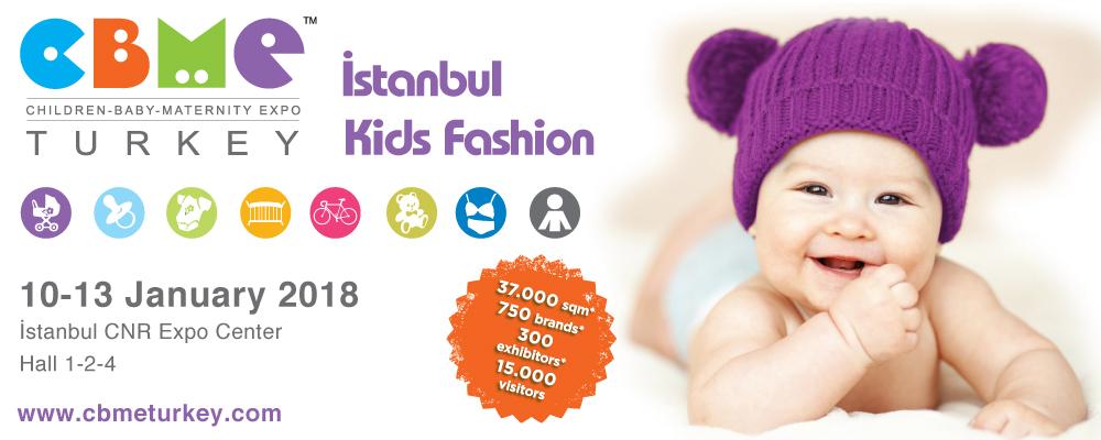Die türkische Kindermodemesse Istanbul Kids Fashion im Januar 2018