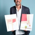 Massimiliano Crescioli von Albero Bambino Srls. Im Web unter: www.alberobambino.it – auf der Kind + Jugend 2017 beim Childhood-Business-Shooting 'My Favourite Item'