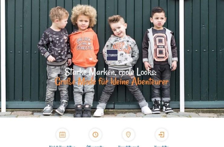 Die Homepage der 4-kidz.eu nach ihrem Relaunch im Dezember 2018