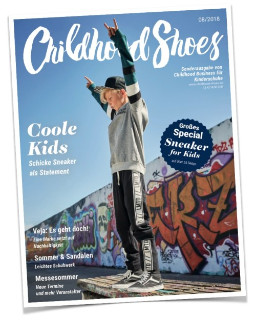 1 von2 Covern der Ausgabe 08/2018 (Childhood Shoes) - Version A