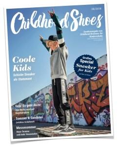1 von 2 Covern der Ausgabe 08/2018 (Childhood Shoes) - Version A