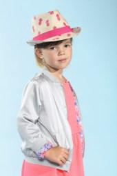 Malou mit Boboli mit Hut von Maximo beim Childhood-Business-Shooting auf der Kids Now im Sommer 2018