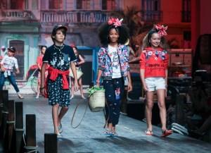 """Marken wie Boboli zeigen auf dem starken """"Fashion from Spain""""-Catwalk ihre neuen Kollektionen. Foto: Emily Kornya"""