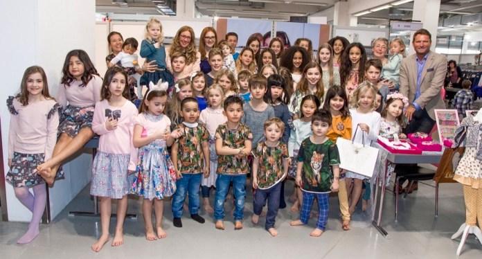 Designershow mit Kindermodels - jede Saison ein Highlight auf der JOT Juniormode