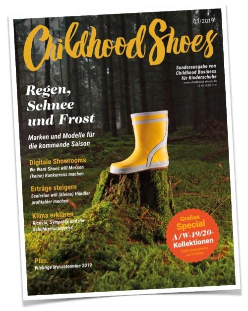 Cover der Ausgabe 03/2019 (Childhood Shoes)