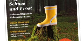 Cover der Ausgabe 03/2019 (Childhood Shoes)