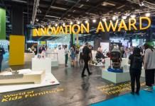 Die Sonderfläche des Innovation Awards zeigt nochmal alle nominierten Produkte.