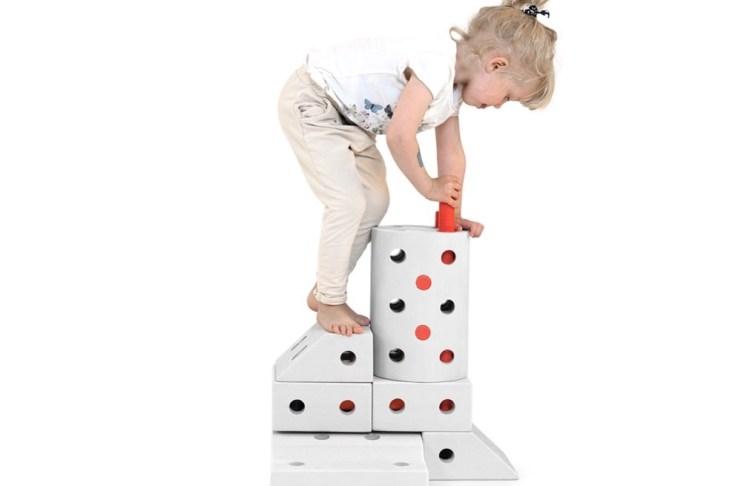 Die Spielblöcke von Modu sind perfekt für ungezwungenen, kreativen Spaß.
