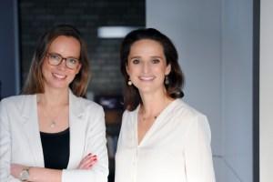 Bentje Lesers (links( und Verena Pausder, Haba Digital