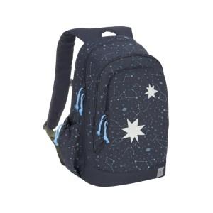 Der große Rucksack ist perfekt für Schulausflüge und bietet praktische Features.