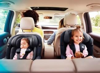 Mit dem Maxi-Cosi Mica können Kinder von Geburt an bis ca. 4 Jahre rückwärtsgerichtet fahren.