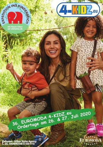 Cover of the 4-kidz.eu catalogue for the order round in summer 2020
