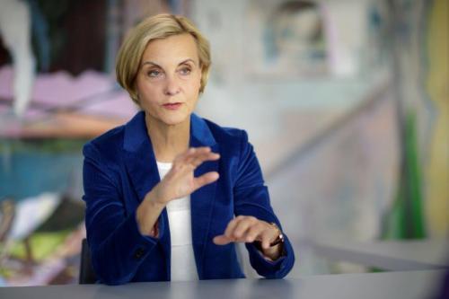 Ingeborg Neumann, Geschäftsführerin der Peppermint Holding und Präsidentin des Gesamtverband der deutschen Textil- und Modeindustrie (Mode+Textil)