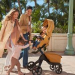 Stokke® Xplory® X Golden Yellow Stroller In Setting