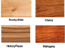 Childhood's End Gallery | Types of Wood