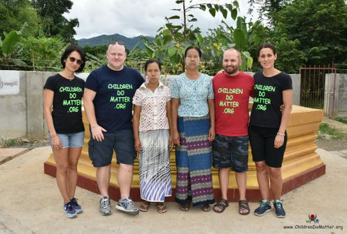 cleaning ladies sasana orphanage myanmar - children do matter