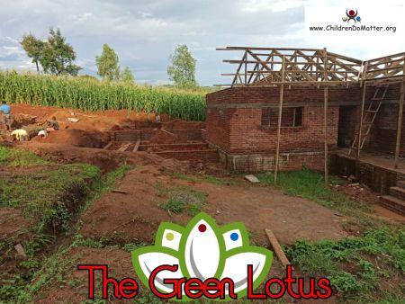 costruzione dell'orfanotrofio casa di accoglienza the green lotus a blantyre malawi - children do matter - 18