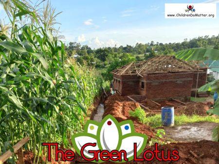 costruzione dell'orfanotrofio casa di accoglienza the green lotus a blantyre malawi - children do matter - 19