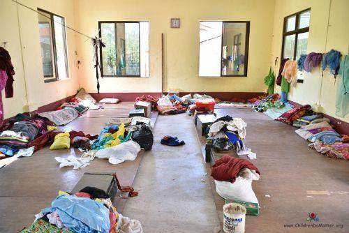 dirty dormitories sasana orphanage myanmar - children do matter