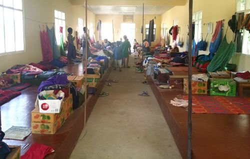 dormitorio presso orfanotrofio sasana - children do matter