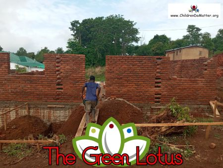the making of the green lotus orphanage in blantyre malawi - children do matter - 12