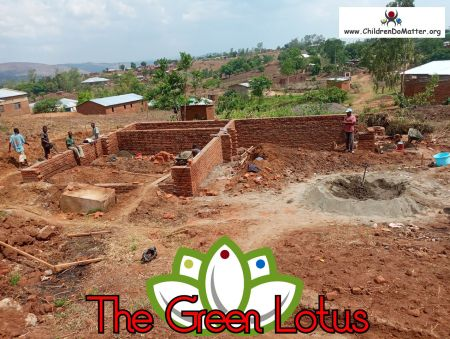 the making of the green lotus orphanage in blantyre malawi - children do matter - 6