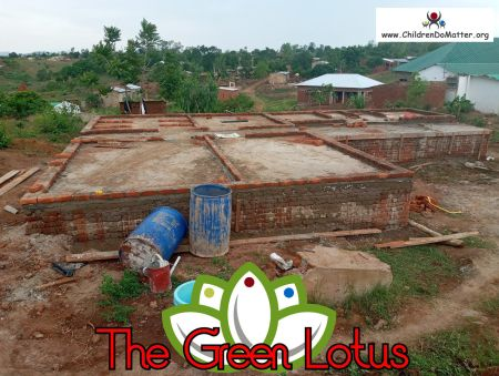 the making of the green lotus orphanage in blantyre malawi - children do matter - 9