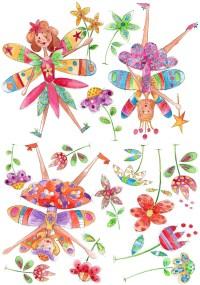 Fairies Wall Stickers | CBC