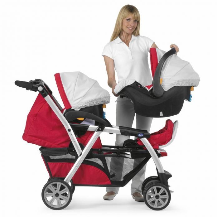 Childrens  Chicco Cochecito Doble  TOGETHER  Mellizos